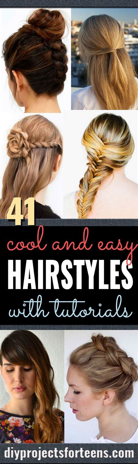 easy hairstyles for school trip easy step by step hairstyles for school cool and easy diy hairstyles and easy ideas