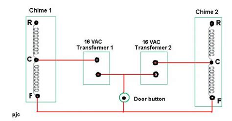 doorbell wiring diagram two chimes doorbell free engine