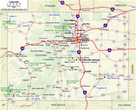 colorado map colorado mountain weather