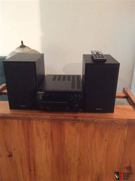 denon bookshelf stereo system photo 1329224 canuck