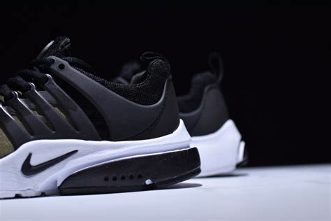 Sepatu Nike Air Presto Acronym Low Black White Premium Quality dazzling acronym x nike air presto low olive black white