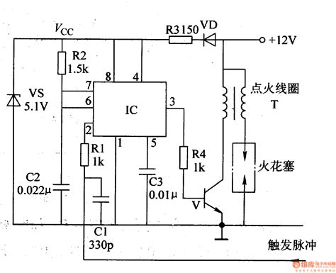 integrated circuit ignition system motorcycle electronic ignition 1 automotive circuit circuit diagram seekic