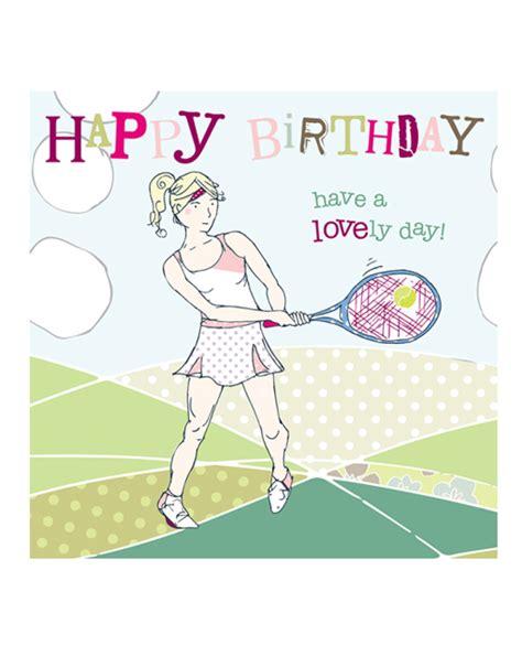 Tennis Birthday Cards Tennis Birthday Cards Molly Mae Tennis Birthday Cards