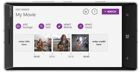 theme editor windows 8 1 new video editing app arrives on windows phone 8 1