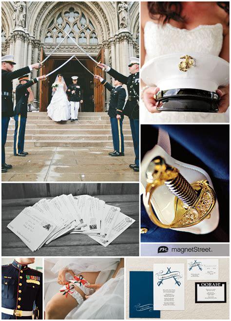 Usmc Wedding Invitations by Patriotic Inspiration And Marine Corps Wedding
