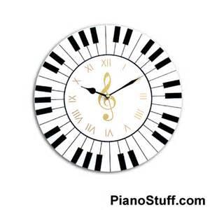 Writing Desk On Sale Music Gifts Piano Keyboard Wall Clock