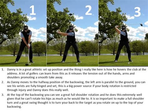 danny willett golf swing danny willett swing sequence what you can learn world