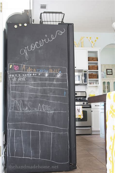 chalkboard paint on fridge faq s painting your fridge with chalkboard paint