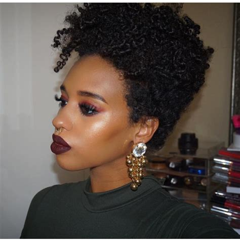 hairstyles for short hair with thin edges 25 big chop hairstyle designs ideas design trends
