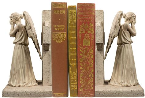 doctor who weeping angels bookends mightymega