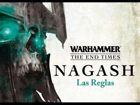 warhammer the end times nagash libro ii las reglas youtube