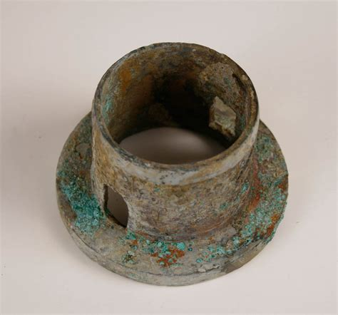 theme stated exles warring states period decorated bronze axle hub for sale