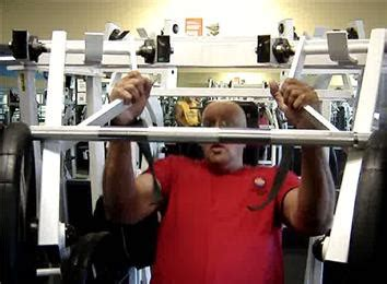 world record incline bench press most 831 pound incline bench presses by a 62 year old