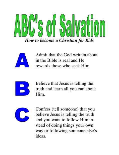 am i really a christian exploring salvation and beyond books abc s of salvation for