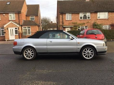 old car repair manuals 1997 audi cabriolet electronic throttle control 1997 audi 80 2 8 cabriolet auto silver automatic future classic in high wycombe