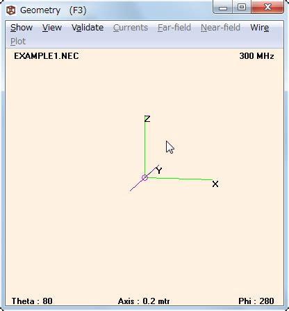 tutorial gnuplot c 海谷の凧 4nec2のインストールとtutorial