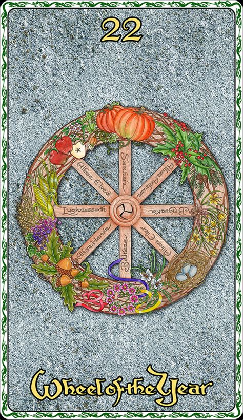 year of the 22 wheel of the year maxine miller studios