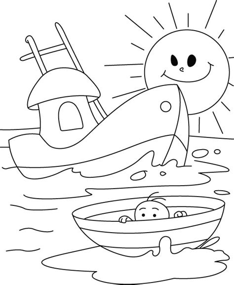 nautical coloring pages coloring pages