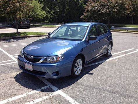 used 2008 subaru impreza 2 5i hatchback purchase used 2008 subaru impreza 2 5i wagon 4 door 2 5l