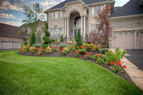 imposing edwardian house with magnificent landscaped beautiful front yard landscaping ideas