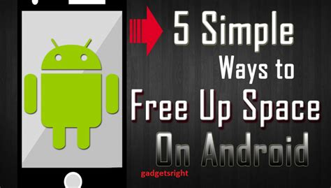 free up space on android how to free up disk space on android devices for better performance
