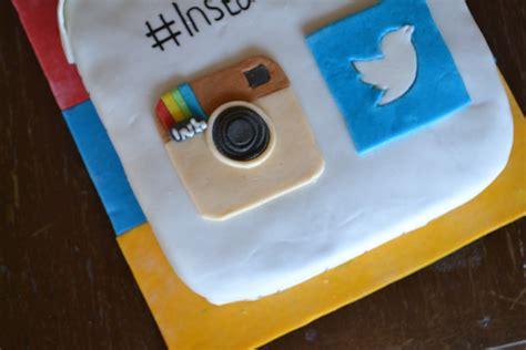 instagram design cake deezert twitter instagram and cake