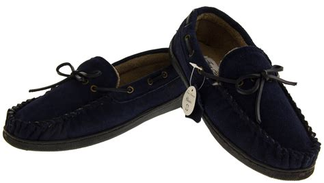 mens leather lined slippers mens leather four seasons warm lined moccasins backed