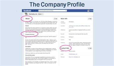 company profile content design digital marketing guide