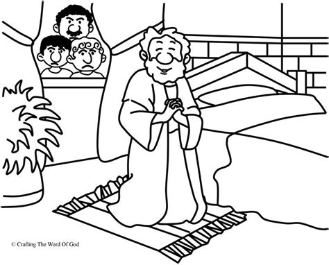 Daniel Praying Coloring Pages by Free Coloring Pages Of Daniel Praying