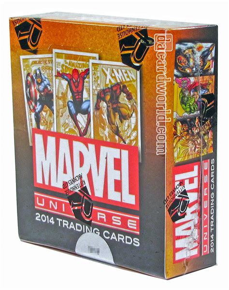 Gift Card Trading - marvel universe trading cards box rittenhouse 2014 da card world