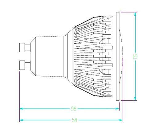 lade a led equivalenti a 100w gu10 faretto 220v con led samsung da 5w equivalente a