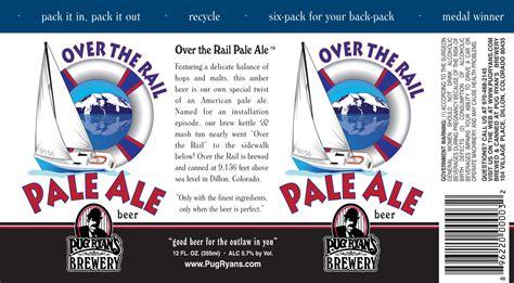 pug ryans pug ryans brewery the rail pale ale journal