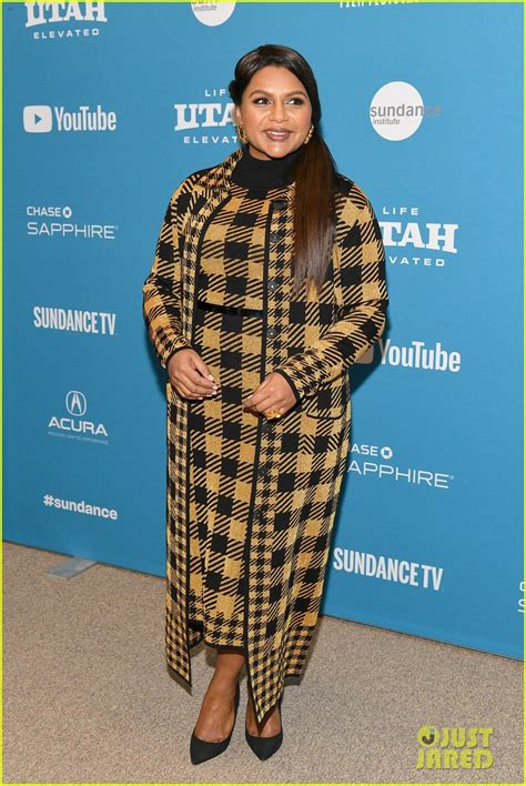 mindy kaling late night mindy kaling premieres late night at sundance film fest