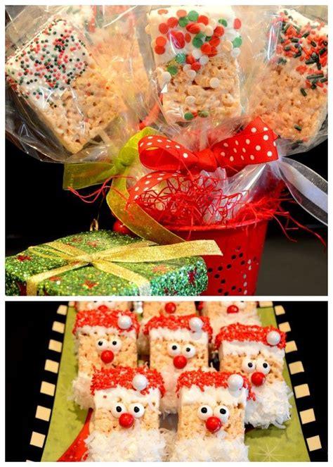 christmas creation food easy rice krispie treats treats treats treats
