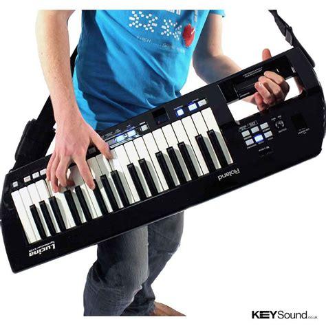 Keyboard Roland Lucina roland lucina ax09 in black keyboard keysound piano