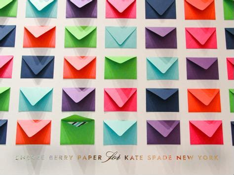 colored envelopes inspiration wall of colored envelopes so about what i said