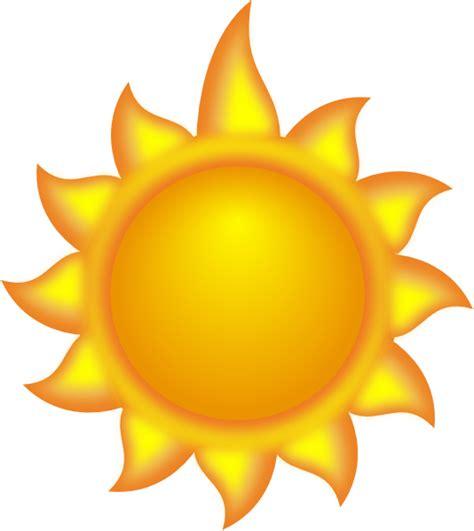what is a sun l a sun with a clip at clker com
