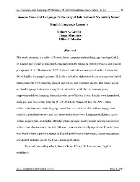rosetta stone pdf rosetta stone and language proficiency of pdf download