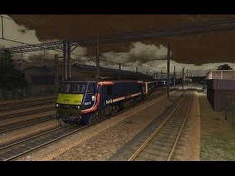 Caledonian Sleeper Stops by Class 90 Caledonian Sleeper On The Wcml Simulator