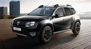 Continuing to enjoy success the dacia duster has gained a new black