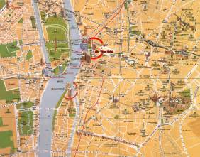 map of cairo map of cairo cairo maps mapsof net