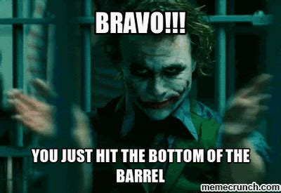 Bravo Meme - bravo joker