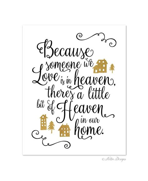 because someone we is in heaven there s a