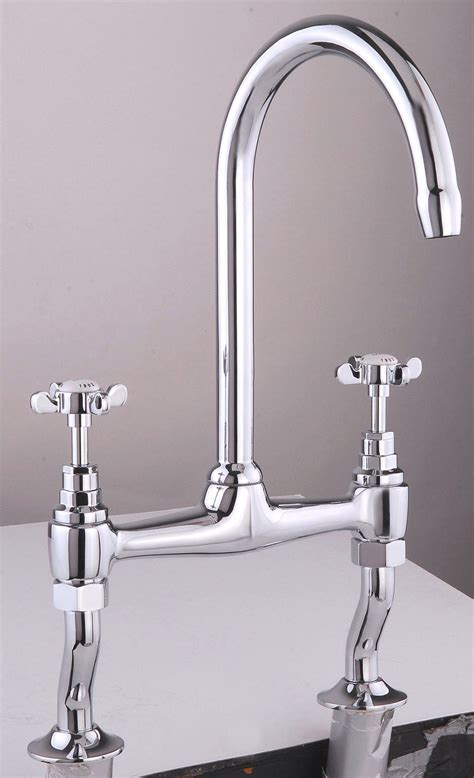 bridge taps kitchen sinks mayfair westminster bridge kitchen sink mixer tap chrome