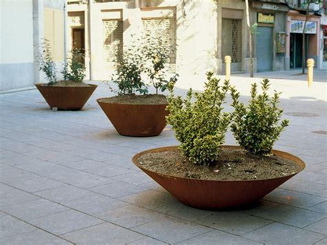 Corten Planter by Corten Steel Planters Homesfeed