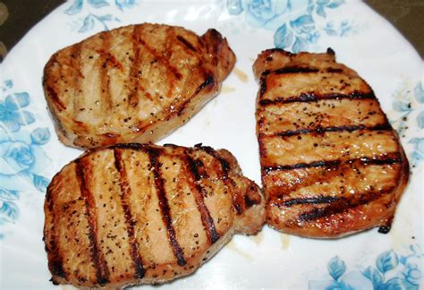 Our Cooking Obsession: Grilled Marinated Pork Chops