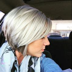 layered angled bob by gia platinum blonde by layered angled bob by gia platinum blonde by