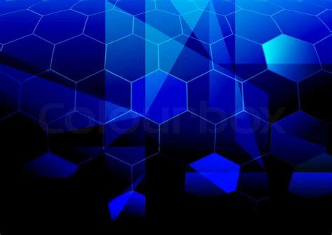 wallpaper abstract hex blue abstract background hexagonal shapes in shades of