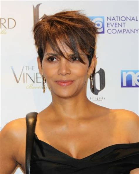 picture of halle berry hairstyle on extant 117 best images about short hairstyles on pinterest