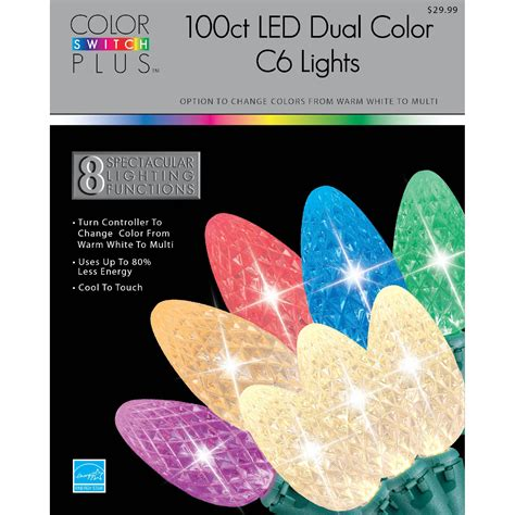 color switch plus lights color switch plus 100ct dual color led lights